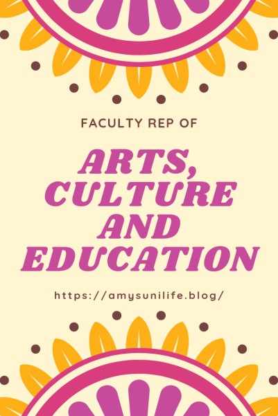 Fac Rep ARTS, CULTURE AND EDUCATION